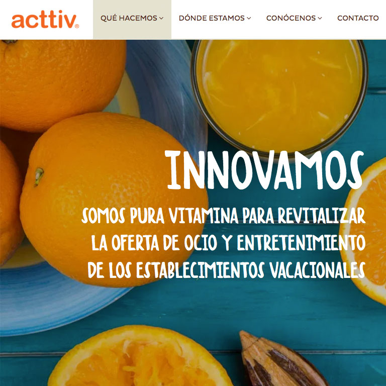 Acttiv website