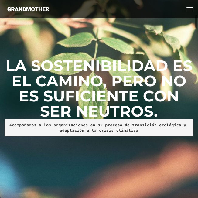 Grand Mother website